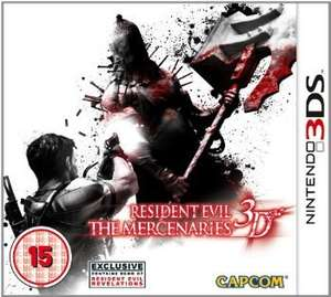[amazon.co.uk] Resident Evil: The Mercenaries [3DS] für 9,79€ inkl. Versand