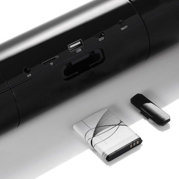 ITgut Bluetooth Stereo Lautsprecher mit TF Card Slot, FM Radio, NFC, Austauschbarem Akku und AUX In bei Amazon.de (Verkäufer: easy2take) für 6,99 Euro für Prime oder 9,99 ohne Prime. Nur noch 13 Stück auf Lager!
