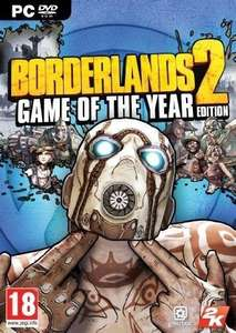 Borderlands 2 Game of the Year Edition PC [Steam] für 5,97€ @ CDKeys