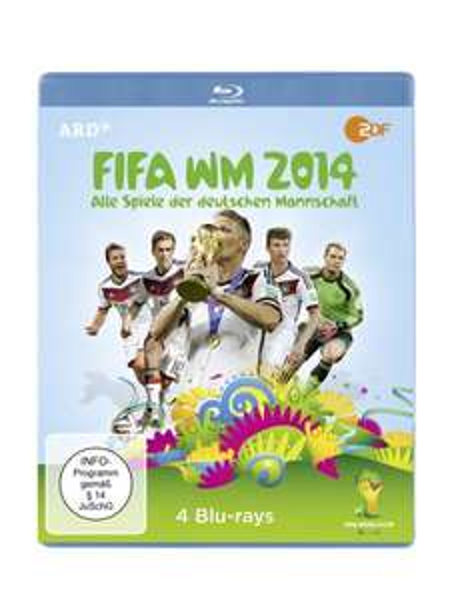 [Blu-ray] FIFA WM 2014 - Alle Spiele der deutschen Mannschaft (4 Discs) @ Amazon (Prime)