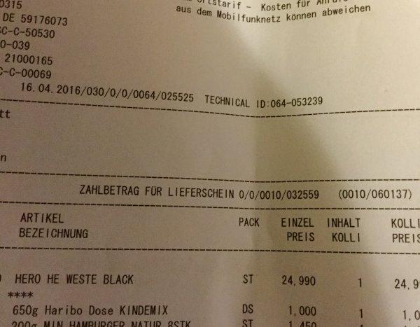 """Haribo 650g Topf mit dem besten Vom besten """"Lokal"""""""
