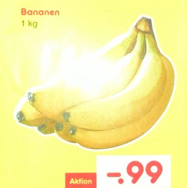 Netto Markendiscount [KW16] Bananen 1 kg für 99 Cent