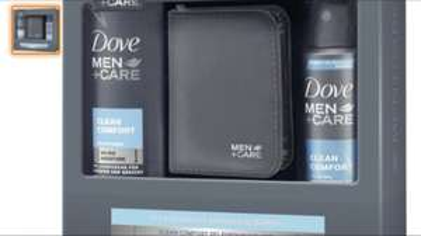Dove Men+Care Geschenkset Clean Comfort mit Nagelset, 1er Pack Amazon Prime