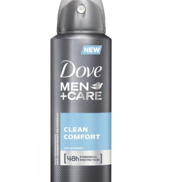Dove Men+Care Deospray Clean Comfort, 3er Pack (3 x 150 ml) Amazon im Sparabo + 25 % auf ausgewählte Dove Produkte = 2,7 Euro