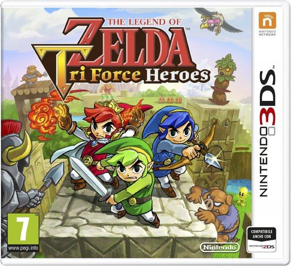 [Amazon.it] The Legend of Zelda: Triforce Heroes (Nintendo 3DS) für 19,58€