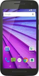 Motorola Moto G 3. Generation (12,7 cm (5 Zoll HD Display)  Quad-Core (Snapdragon 410), 13MP/5MP Kamera, 8 GB Speicher, MicroSD Slot, Android 5.1.1 bzw 6, IPX7 Zertifizierung, Farbe Schwarz und Weiß ab 134 € [Saturn]