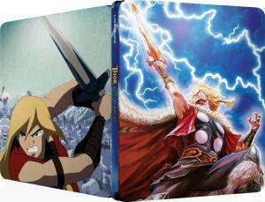 (UK) Marvel Zavvi exklusive Steelbooks Blu-ray (Planet Hulk, Hulk Vs, Thor: Tales of Asgard...)  für je 5,76 € @ Zavvi