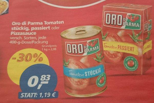 [Real] KW 16 Oro di Parma Dosentomaten 400 g stückig, passiert oder Pizzasauce