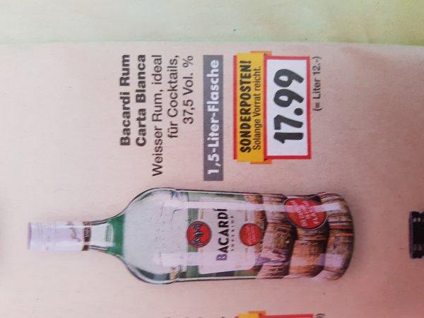 (Lokal Meppen) Kaufland Bacardi 1,5 Liter