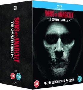 Sons of Anarchy - Season 1-7 Blu-Ray (Original-Ton) für 61,55€/73,24€ @Zavvi