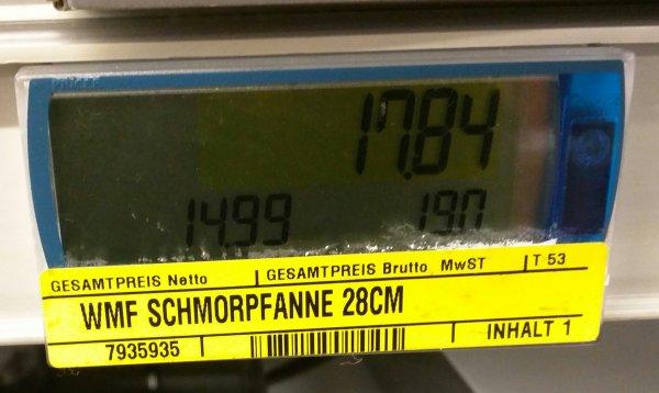 [Metro] WMF ProfiSelect Schmorpfanne 28cm