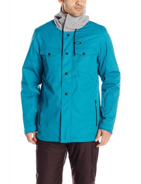 Oakley Herren Jacke Divsion 2 Biozone Insulated Jacket Größe S blau