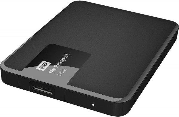 @Amazon ES: Western Digital 1.5TB My Passport Ultra (USB3.0, Schwarz, Hardware Verschlüsselung) für 73,57€