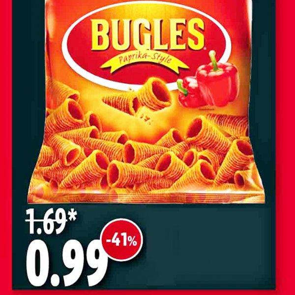 Lay's Bugles Chips 41% sparen jetzt für nur 99 Cent [Kaisers / Tengelmann]