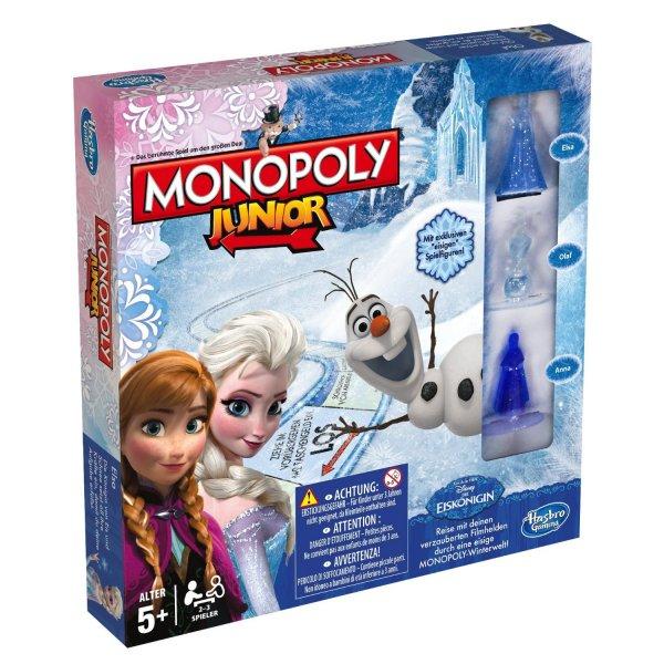 (Brettspiel/Prime) Monopoly Junior - Die Eiskönigin für 21,99€
