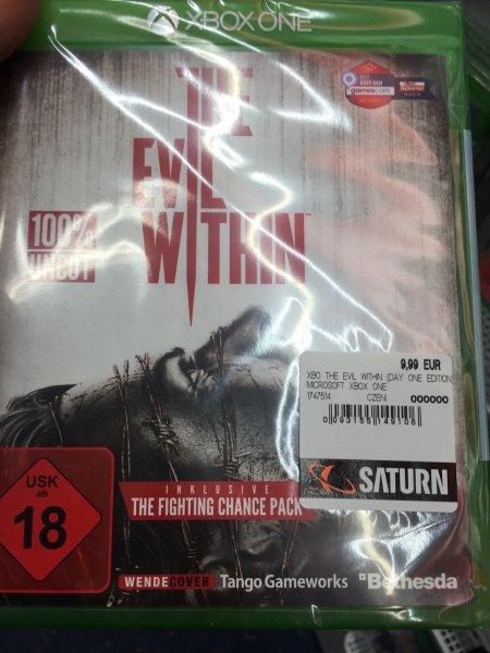 [lokal Berlin] Saturn am Alex The Evil Within (Xbox One) für 9,99€ statt 19,85€