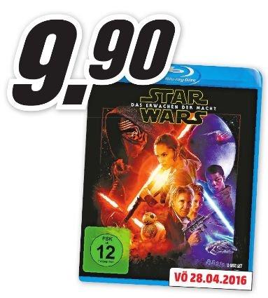 [Lokal Mediamarkt Osnabrück-Belm ab 22.04] Star Wars: Das Erwachen der Macht (inkl. Bonusdisc) [Blu-ray](Vorbestellung) für 9,90€
