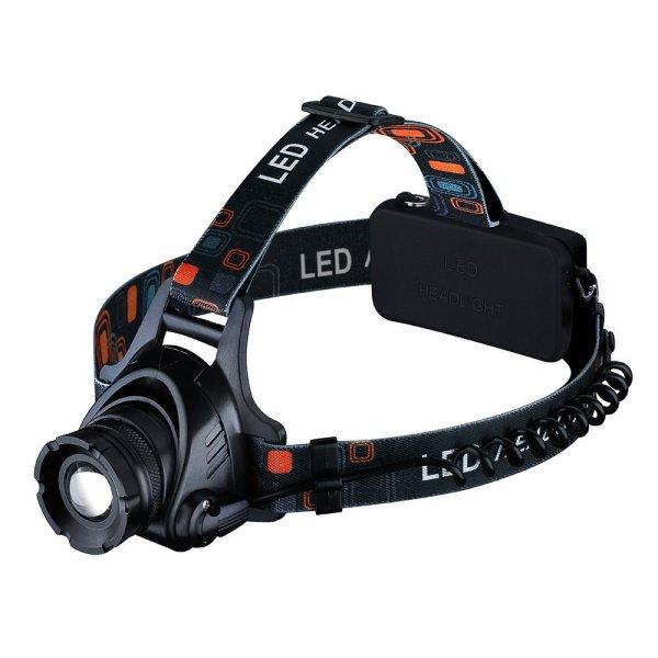 Aluminium LED Stirnlampe Kopflampe 1000LM mit CREE T6, 3 verschiede Modi, Batterien inklusive, USB-Ladekabel@Amazon.de 15,88€