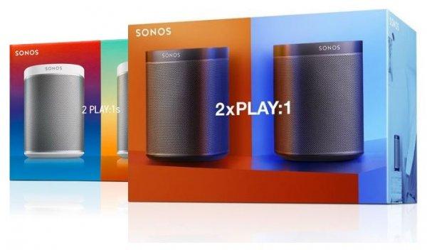 [ABGELAUFEN] [Amazon.it] Sonos PLAY:1s - 2 Room Starter Set inkl. VSK für € 370,90 (weiß) oder €340,62 (schwarz) statt € 419,00