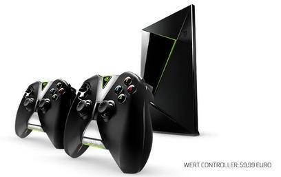 [Amazon] Nvidia - 2. Game Controller gratis beim Kauf eines Nvidia Shields & 3 Monate Geforce Now