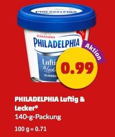 [Penny, KW16] Philadelphia Luftig&Lecker -69% (Angebot + Scondoo)