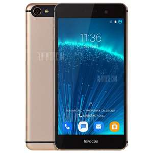 [Gearbest EU] Infocus M560 in Champagne Farbe für ca. 100€ inkl. Versand - 2GB RAM, 16GB ROM, FHD 5,2 Zoll, LTE, Android 5.1