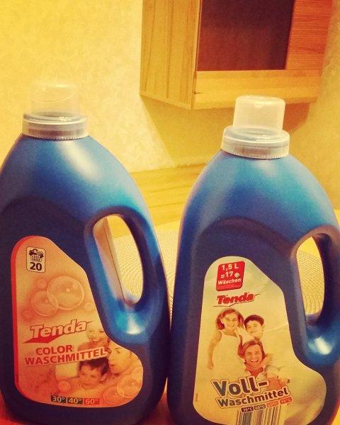 Billiger Waschen als bei Aldi / Lidl und Co. - 1,5 l Waschmittel für 1 € (Obi).