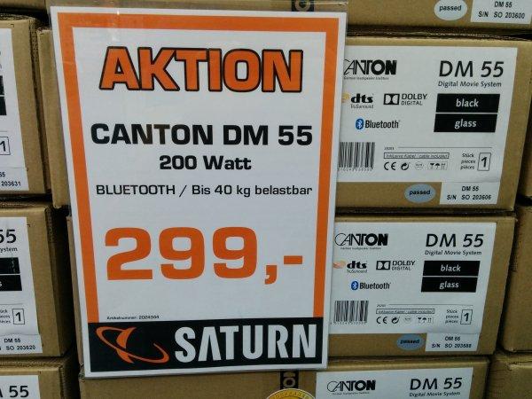 [Saturn] lokal / Canton DM 55 2.1 Virtual-Surround-System für 299€ (idealo 424,90) @ Saturn Bremen-Habenhausen