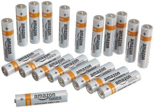 Amazon Prime - AAA Alkali Batterien 20 Stück im Tagesangebot