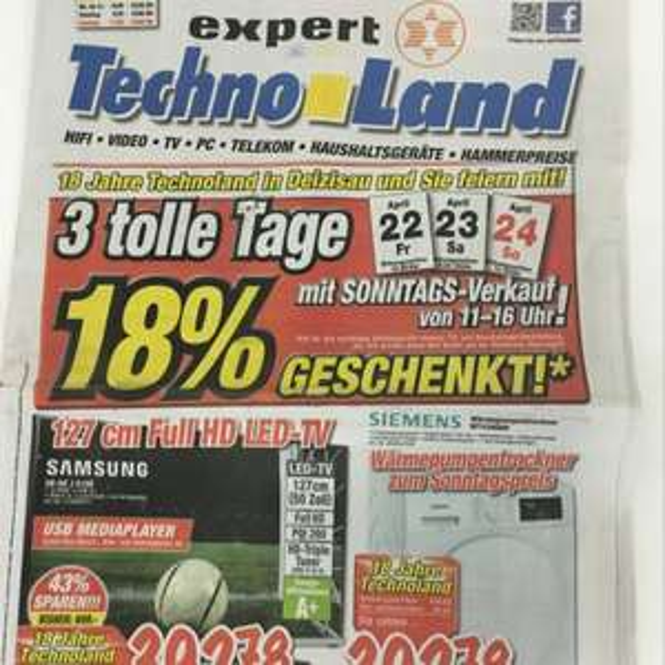 18% Technoland Deizisau
