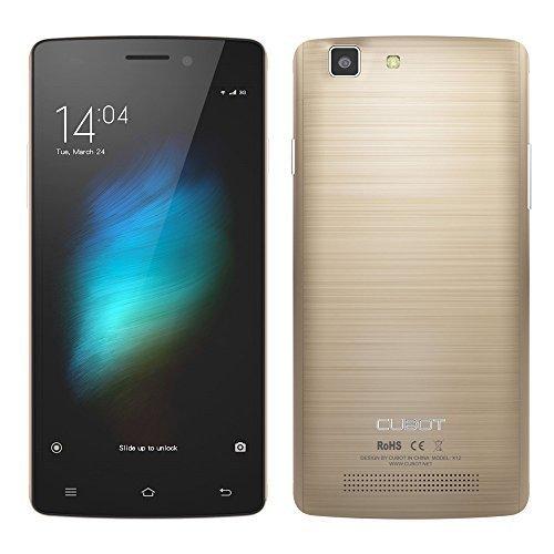 Amazon: CUBOT X12 Quad-Core Dual SIM FDD-LTE 4G-Smartphone 5,0'' Zoll HD IPS Screen Android 5.1 für 42,49 €