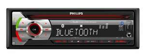 Philips CEM2200BT Autoradio (Bluetooth, 1-DIN, MP3, ESP, USB) schwarz inkl .Vsk für 95,93 € @ amazon.fr