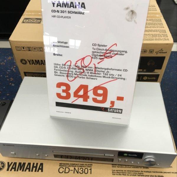 Lokal: Saturn Ku'damm Yamaha CD N 301