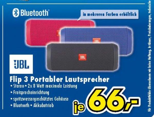JBL Flip lll Portabler Lautsprecher in verschiedene Farben bei Euronics in Hövelhof. *Update*Auch Online zzgl. 5,95€ Versand