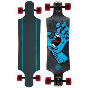 Santa Cruz Micro Drop Down Longboard Screaming Hand bei Surfdome.de für 133,34 €