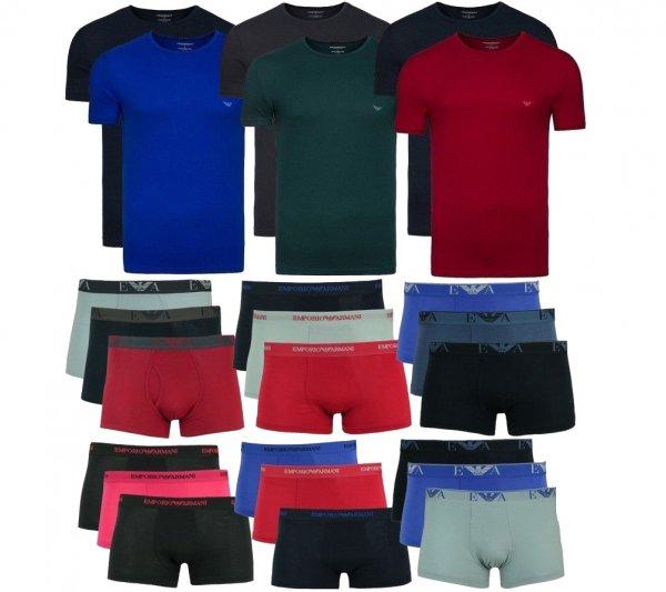 Emporio Armani 3er Pack Boxer oder 2 Pack T-Shirt je nur 23,99@ebay