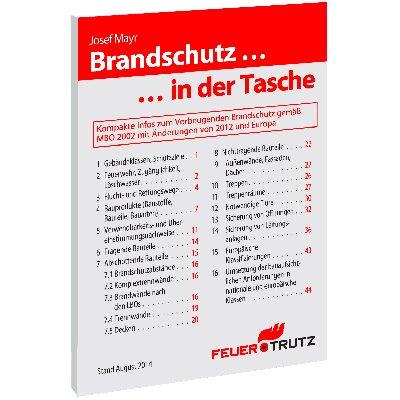 """Broschüre """"Brandschutz in der Tasche"""""""