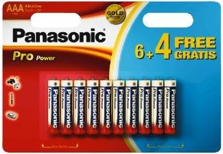 [MediaMarkt] PANASONIC LR03PPG/10BW Batterie AAA 10 Stück für 2,50 € inkl. Porto.