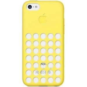 [Amazon.de, Plus Produkt] Apple iPhone 5C Case Gelb MF038ZM/A (ggf. +Vsk.)