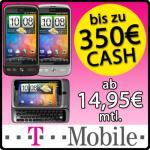 HTC Desire mit  290 Euro  Auszahlung (Complete Mobil M Mobil Friends)