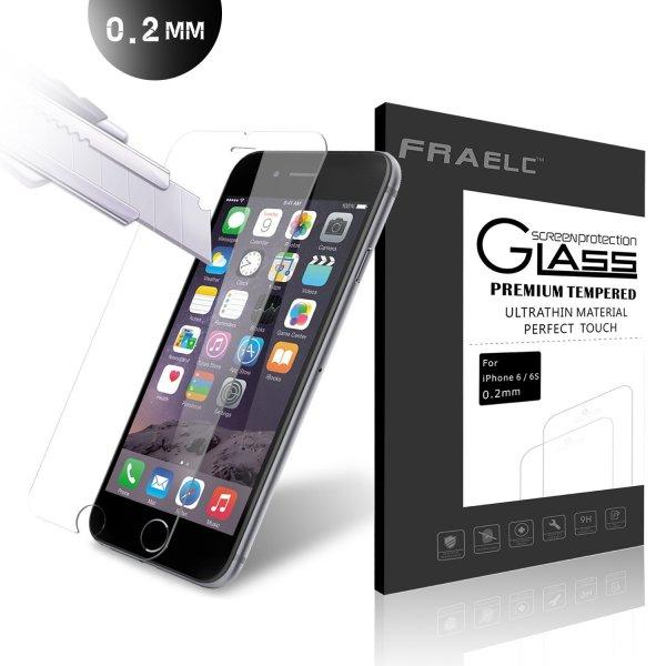 @ Amazon Prime - iPhone 6 6S Glasfolie 9H Hartglas Tempered Glass Displayschutz, Panzerglas Schutzfolie 1,99 Euro