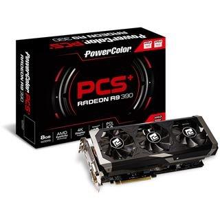 Powercolor R9 390 PCS+ 8192MB incl. Hitman für 306,99€ @Mindfactory