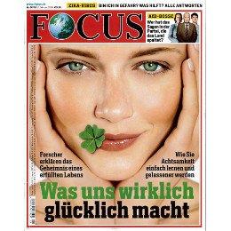Focus Jahresabo (52 Ausgaben) im Paybackshop für 19,99 Euro