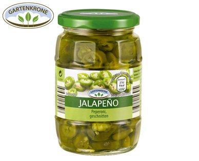 ALDI-Süd Grüne Jalapeño im Glas, Peperonis, 0,99€ ab Montag, 25.04.2016
