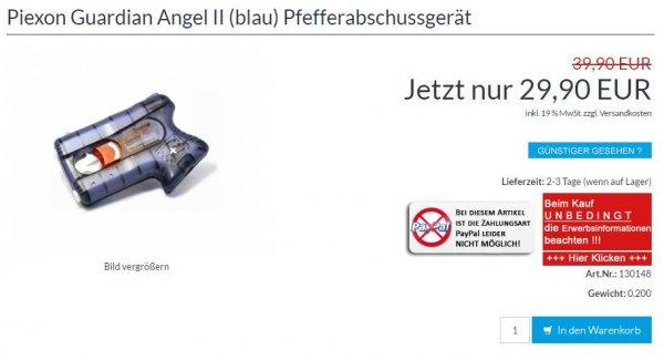 Piexon Guardian Angel 2 für nur 29,90 € statt 39,90 €