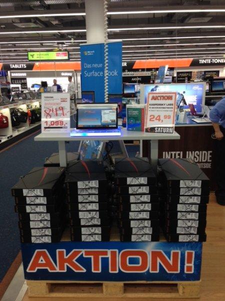 [Saturn Berlin] Toshiba Convertible Ultrabook zum Hammerpreis ! ! !