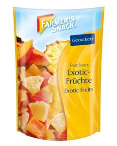 Amazon Prime : Farmer's Snack Exotic-Früchte, 10er Pack (10 x 150 g) - Nur 11,27 €