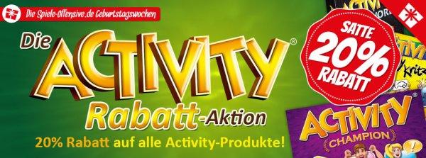 [Spiele-Offensive] Activity Geburtstags Rabatt | 20% Rabatt | Brettspiel | Gesellschaftsspiel