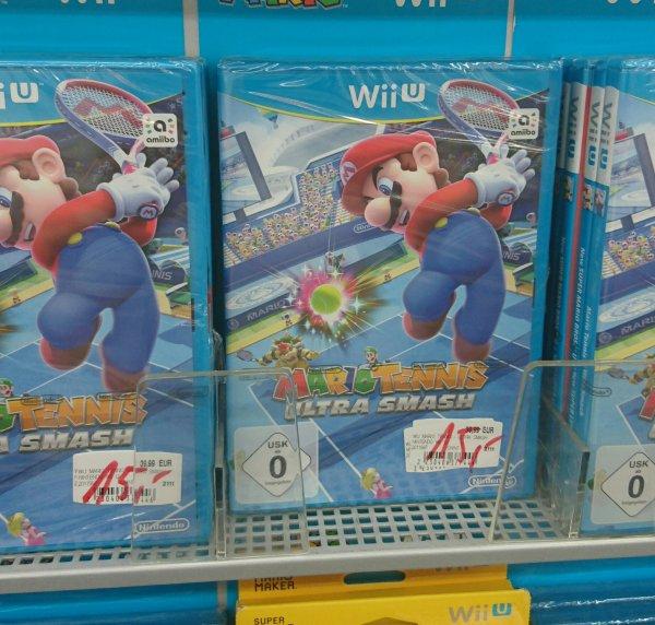 [lokal Saturn Karlsruhe Durlach] Mario Tennis Wii U
