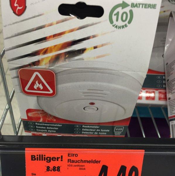 [regional Kaufland Berlin-Neukölln] Rauchmelder der Marke Elro
